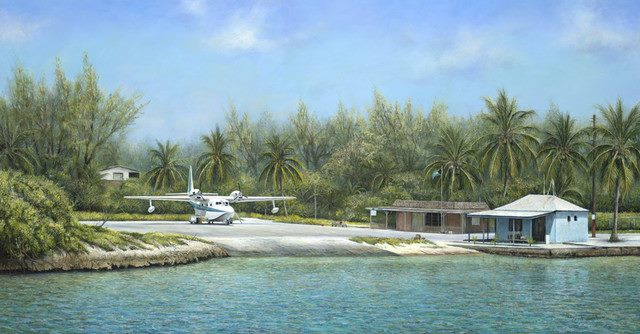 Chalk Airlines Office and Ramp Bimini
