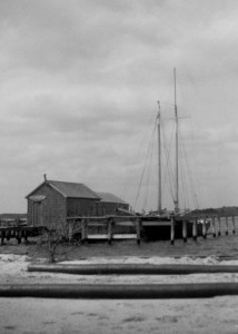 Emma C at Dale Yacht Basin 1935