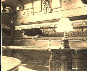 Emma C cabin interior